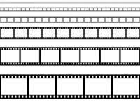Illustrations of film stock photo