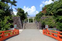 Takeda Shrine Stock photo [1745907] Tsutsuji~kesaki