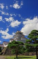 Red tile of Tsuruga-jo Castle (Japan 100 Meijo) Stock photo [1746833] Tsuruga