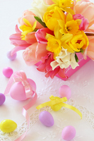 Spring color bouquet of Stock photo [1830669] Flower