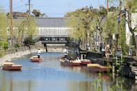 Yanagawa Suigo Tour Stock photo [1831903] Town