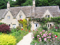 Houses of England Cotswolds Stock photo [1833107] United