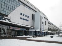 Winter of Shin-Hanamaki Station Stock photo [1834447] Shin-Hanamaki
