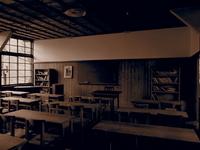 Old school building classroom Stock photo [1942322] Nostalgic