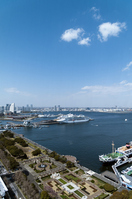 Landscape of Yokohama Port and Yamashita Park Stock photo [1943703] Yokohama