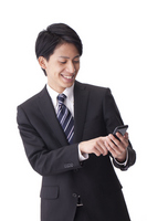 Smartphone, businessman Stock photo [1944013] Man