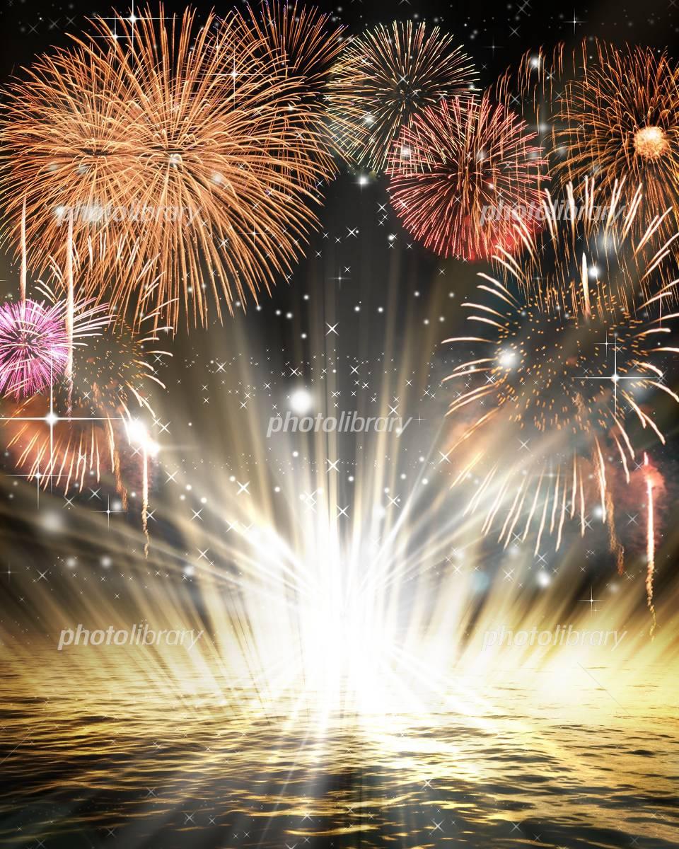 Fireworks image イラスト素材