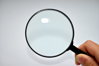 Magnifying glass Stock photo [2043853] Magnifying