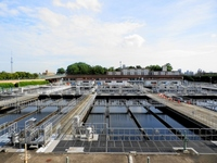 Mikawashima water purification plant Stock photo [2045177] Water