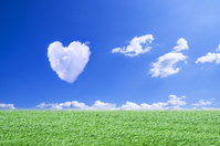 Heart of clouds Stock photo [2046987] Hart