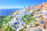 Greece Santorini Island Stock photo [2047139] White