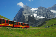 Swiss Alps mountain railway Stock photo [2047191] Switzerland