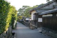 Yamaguchi Prefecture Hagi samurai residences stock photo