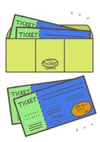 Invitation ticket to dream [2048784] Ticket