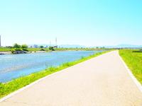 Road along the river Stock photo [2051866] Along