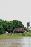 Old houses along the Ping River Stock photo [2052126] Overseas
