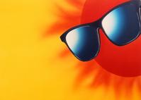 Sun and sunglasses Stock photo [59458] Sun