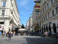 Vienna Kärntner Straße Stock photo [2150883] Wien