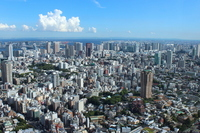 Tokyo landscape Odaiba Shinagawa-Haneda Airport Stock photo [2151711] Big