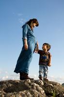 Pregnant women and children Stock photo [2152107] Pregnant