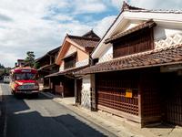 Fukiya Furusato Village and bonnet bus Stock photo [2152377] Fukiya