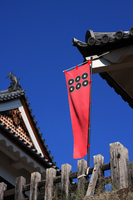 Roku-bunzeni of flag (Ueda Castle) Stock photo [2153020] Roku-bunzeni