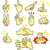 Operation 12 kinds of hand [2153797] OK
