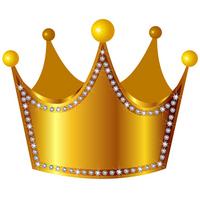 Gold crown crown diamond [2154413] Gold