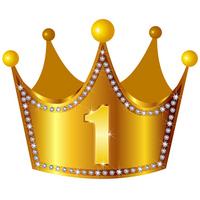 Crown crown gold diamond 1 [2154483] Crown