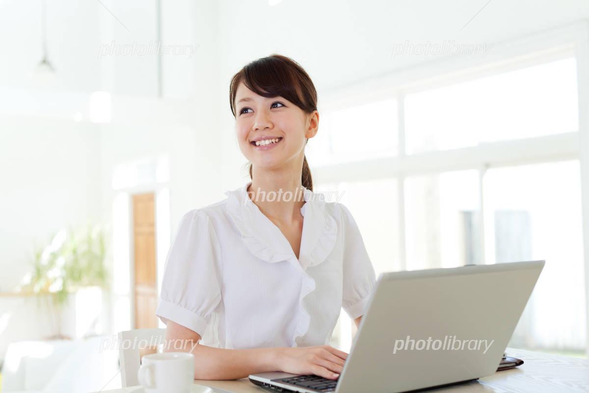 Refreshing women Photo