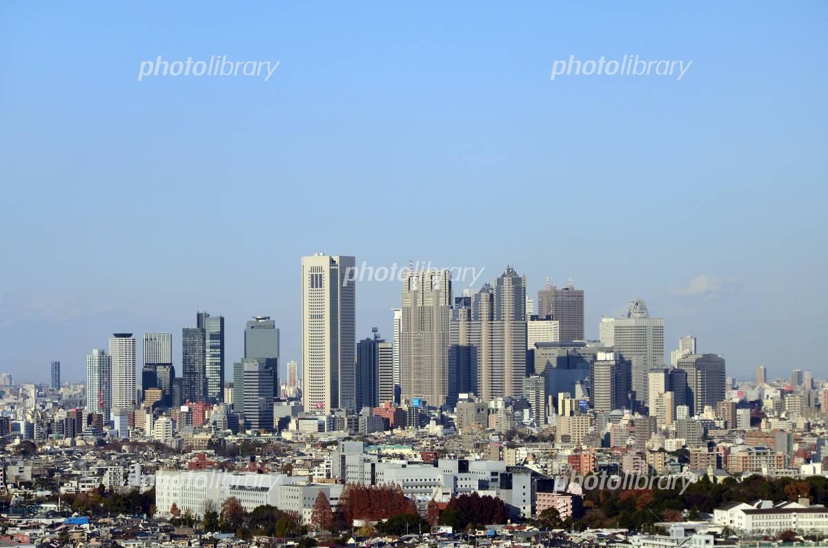 Shinjuku buildings distant view Photo