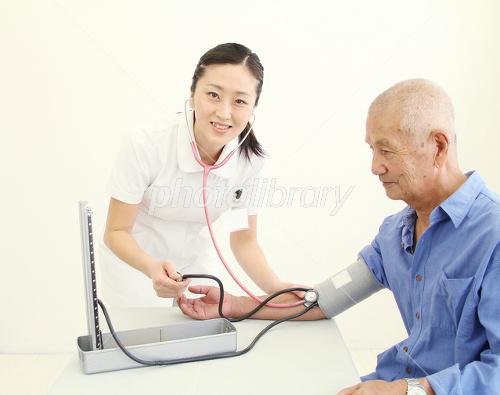 I measure the blood pressure Photo