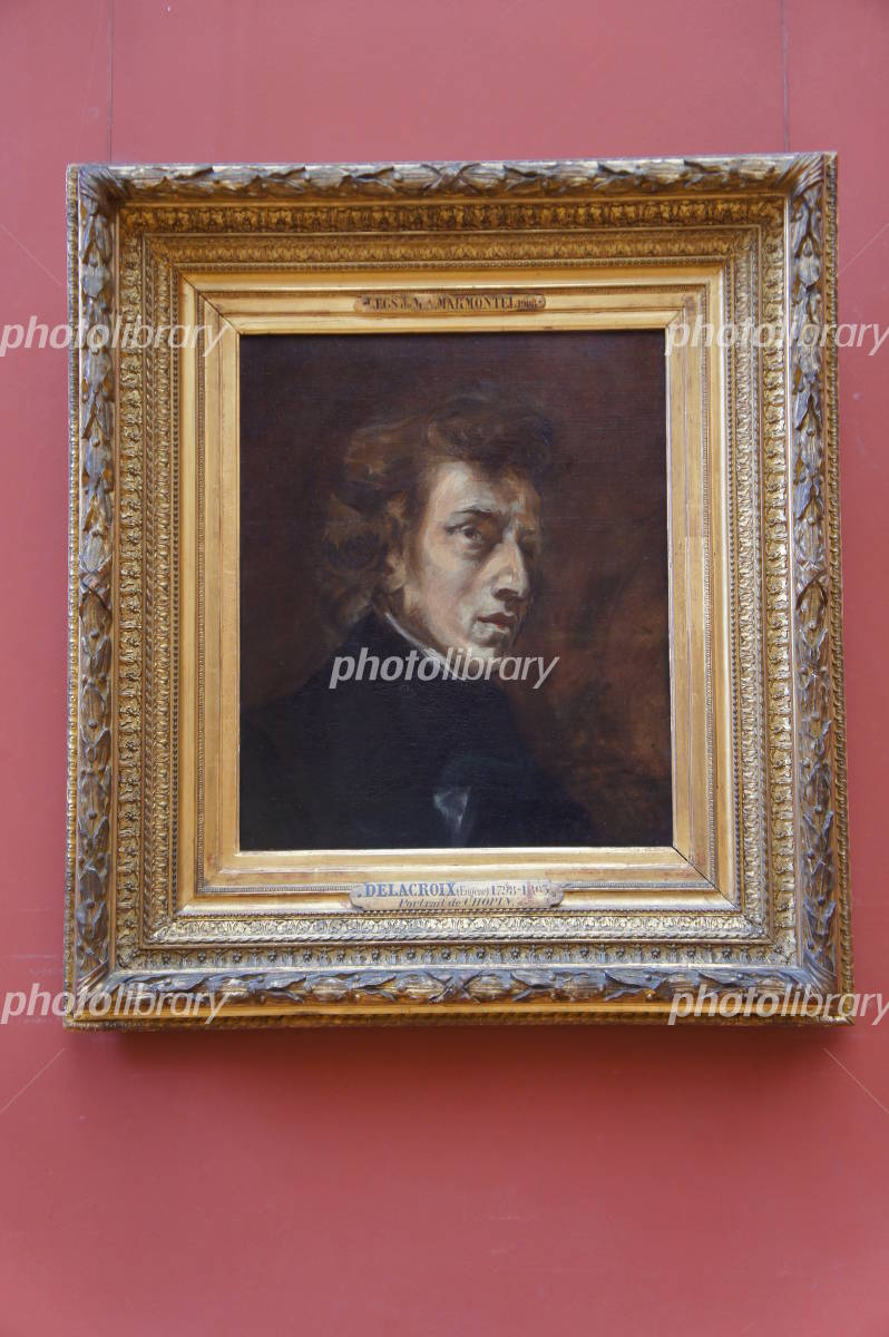 Frederic Chopin's portrait Photo