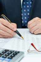 Financial statements and management Stock photo [2264844] Financial