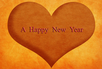 New Year's card material [2268621] New