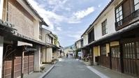 Streets of Ehime Prefecture Uchiko Yokaichi-patriotism Stock photo [2269166] Shikoku
