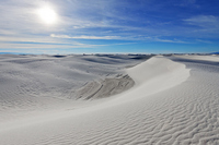 White desert White Sands National Monument Stock photo [2274519] White