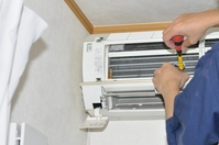 Air-conditioner repair Stock photo [2276533] Air