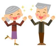 Rejoice senior couple [2277566] Zinnia