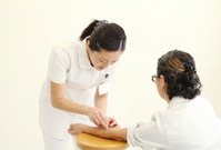 Nurse to the injection Stock photo [2278946] Medical