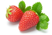 Strawberry (red cheeks) Stock photo [2280913] Red