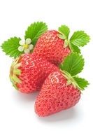 Strawberry (red cheeks) Stock photo [2281267] Red