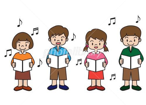 合唱 歌 コーラス 発表会 音楽会 イラスト素材 2396480 フォト