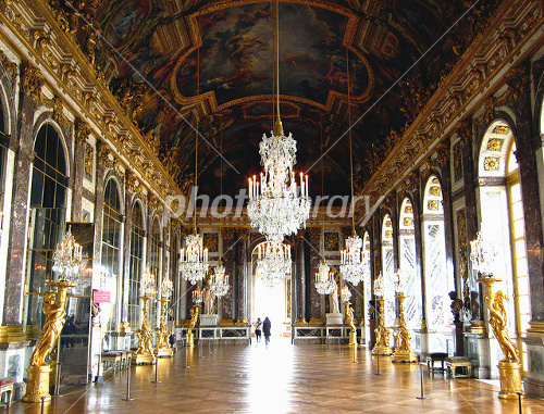 Corridor of Versailles mirror Photo