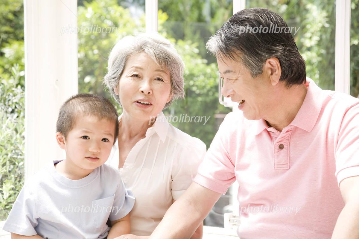 Grandmother to entertain the grandchildren Photo