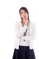 I think women Stock photo [2398796] Thought