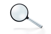 Magnifying glass Stock photo [2405553] Magnifying