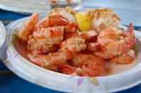 Garlic shrimp Stock photo [2407757] Hawaii
