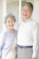 Smiling elderly couple Stock photo [2412106] 2