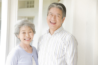 Smiling elderly couple Stock photo [2412108] 2